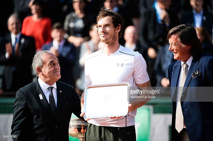 【全仏オープンテニス2017】ドロー発表とオッズ、優勝候補など