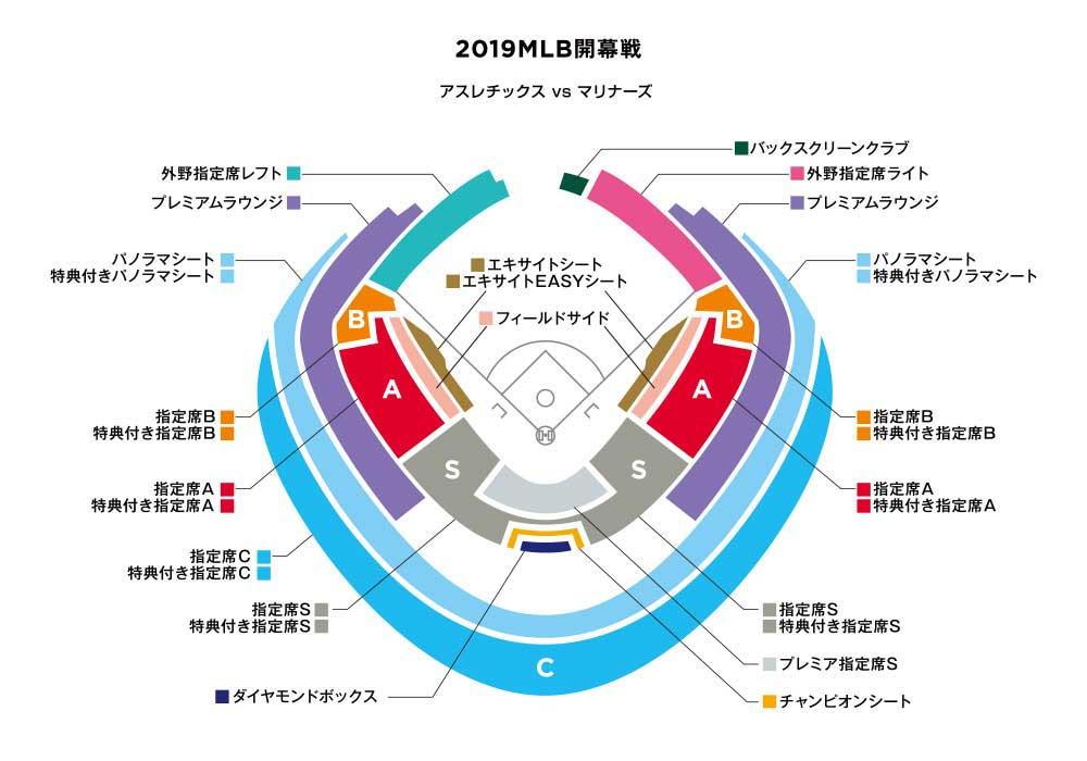 マリナーズ開幕戦チケット(東京ドーム巨人戦も)値段と購入方法!