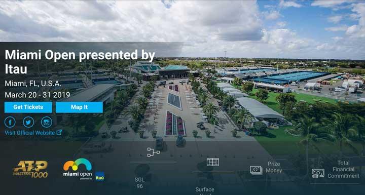 マイアミ・オープン2019放送・日程・ドローまとめ|錦織圭出場
