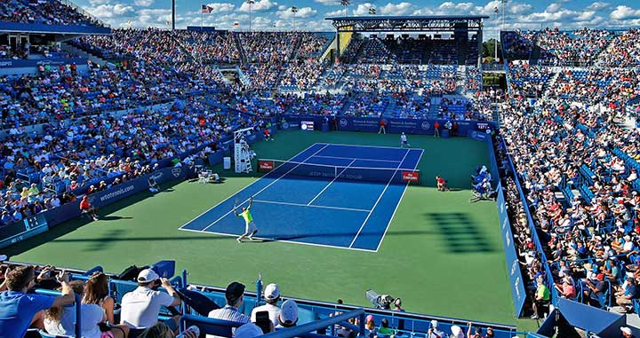 【西岡良仁】ウエスタン&サザンオープン2019・3回戦の試合日程・テレビ放送予定|錦織圭に勝利