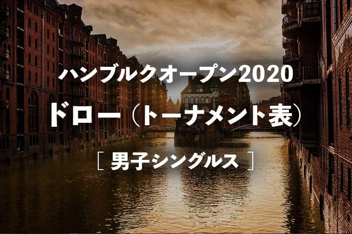 ハンブルクオープン2020 ドロー(トーナメント表)