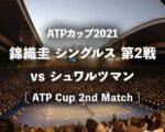 【錦織圭 vs シュワルツマン】2021年ATPカップ2回戦の結果・ハイライト動画(グループ予選アルゼンチン戦)|テニス中継(テレビ放送/ネット配信)