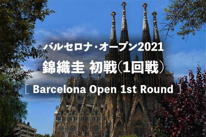 【錦織圭 バルセロナオープン1回戦 放送】2021年の試合開始は何時から?テレビ放送予定・ネット中継・結果速報・ドロー